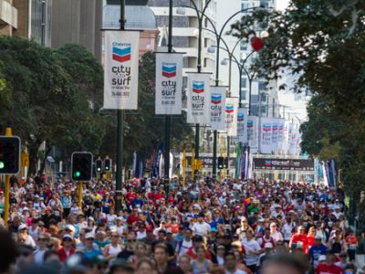 Run the scenic route - City to Surf Perth