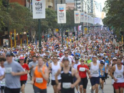 Celebrating 40 years of running - City to Surf Perth