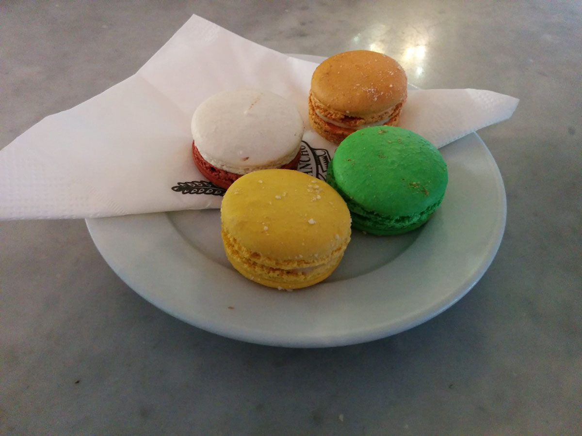 Coffee and macarons @ Jean Pierre Sancho