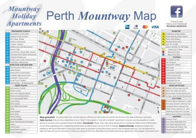Mountway has printed a locality Map for guests March 2012
